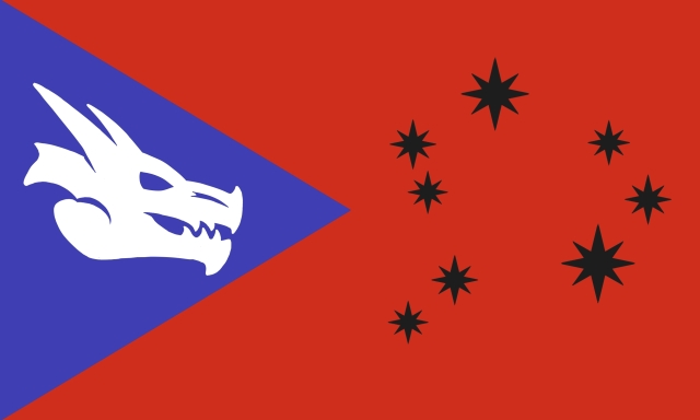 Flag North Earth