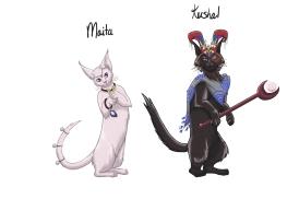 Kushal and Maita Pixie Cats