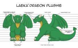 Laeka'Draeon Plushie Design