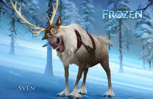SVEN is like the BEST name ever for a reindeer!