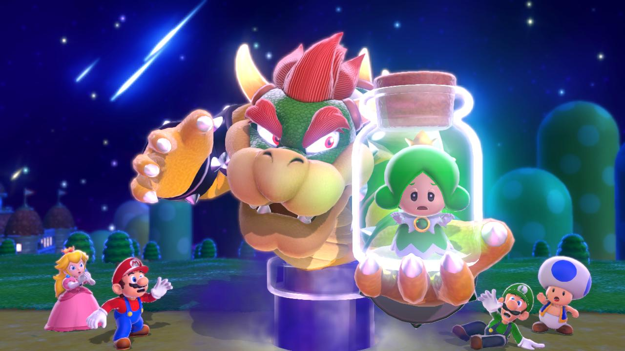 Super Mario 3d World Gifs Super Mario 3d World Bowser