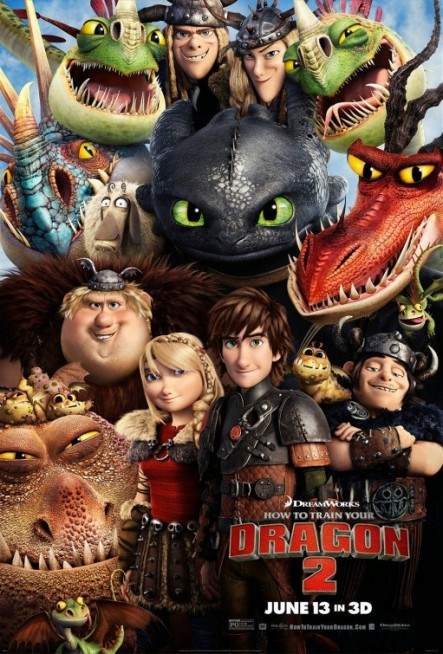 Hiccup, Toothless and Friends are back!