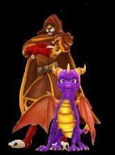 Spyro_and_Hunter_by_KT_JadeBlaze