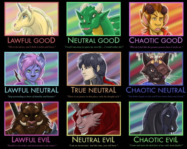 The Character Alignment System Whims From Valadae