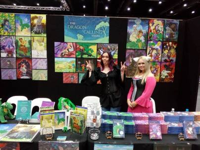 N and Chii at Booth