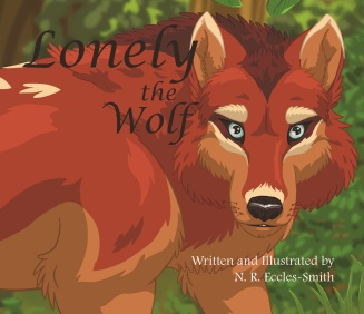 Lonely the Wolf Front Cover2