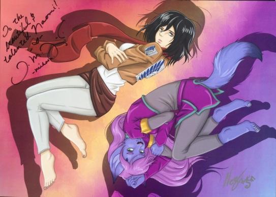 Mikasa and Shifra