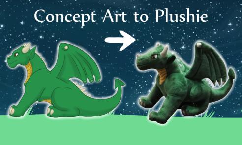art to plushie