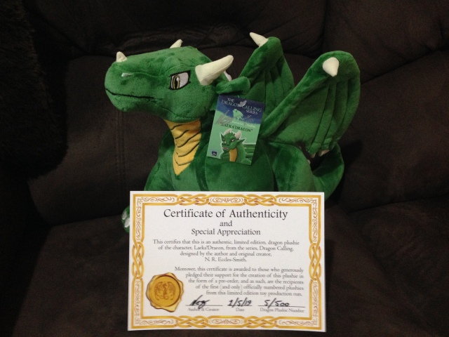 Plushie with Certificate