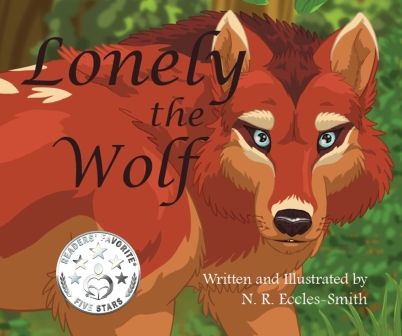 Lonely the Wolf Front Cover Thorpe Bowker Bigger