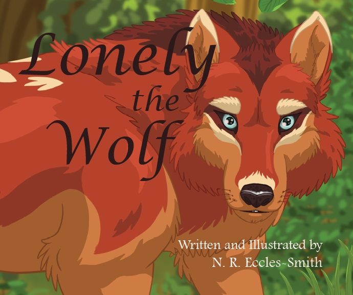 Lonely the Wolf Front Cover Thorpe Bowker