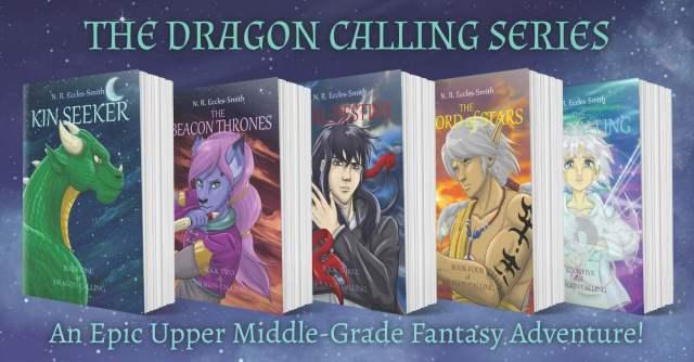 Dragon Calling Books Banner