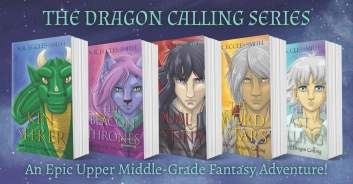 Dragon Calling Hardcover Books Banner